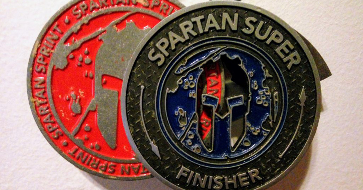 carreras de obstaculos ocr spartan race entrenamiento sgx hurrican heat trifecta ultra super sprint medallas