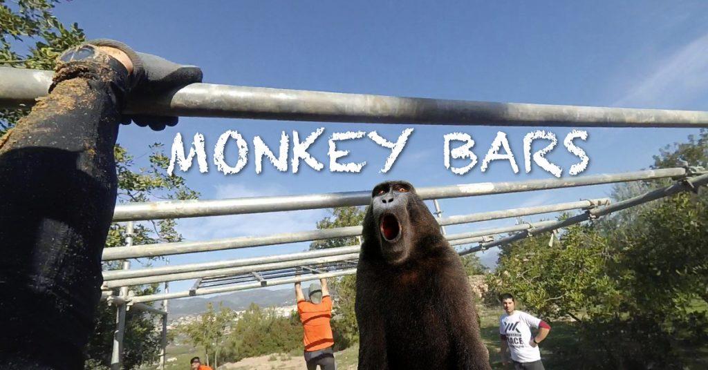 ocr monkey bars carrera de obstaculos