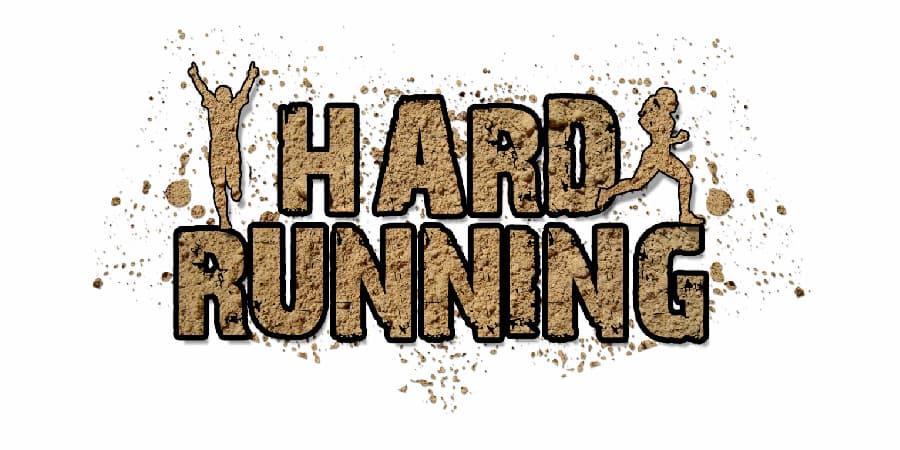 hard running